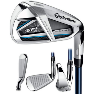 TaylorMade SIM MAX OS Irons Steel Shaft