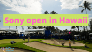 Sony open in Hawaii