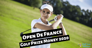 Open De France Golf Prize Money