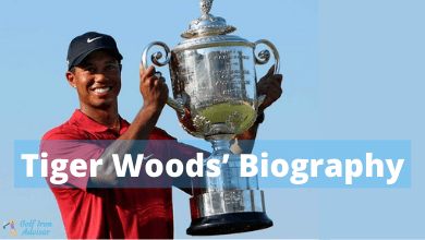 Photo of Tiger Woods' Biography