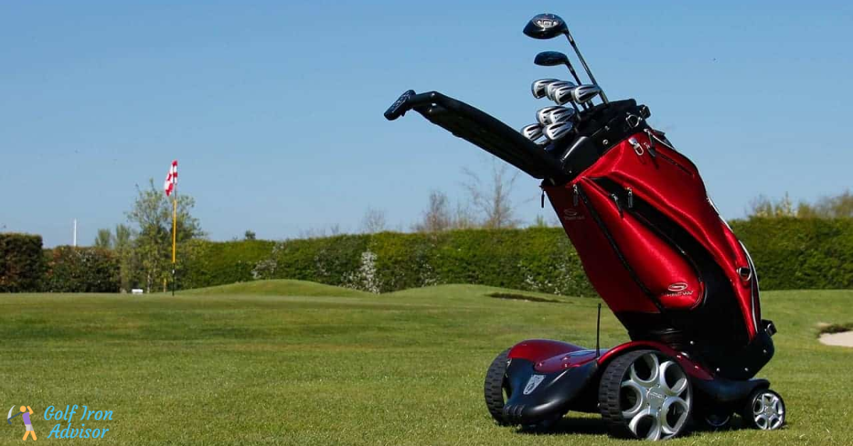 Best Electric Golf Push Cart for Hills