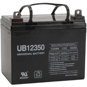 Universal Power Group Sealed AGM Battery 12 Volt 35 Amp Hour